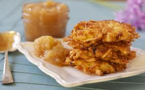 Latkes are not really sweets.  But they are still damn good.